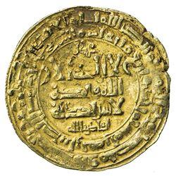 GHAZNAVID: Mahmud, 999-1030, AV dinar (3.85g), Herat, AH401. VF