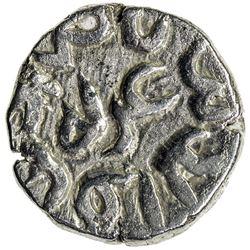 QARLUGHID: Nasir al-Din Muhammad, 1249-1259, BI jital (3.54g), Ghazna, ND. EF