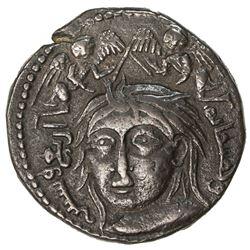 ZANGIDS OF AL-MAWSIL: Mawdud, 1149-1169, AE dirham (11.59g), NM, AH664. VF-EF