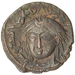 ZANGIDS OF AL-MAWSIL: Ghazi II, 1169-1180, AE dirham (10.06g), NM, AH569. VF
