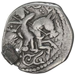 GREAT MONGOLS: Toregene, 1241-1246, AR dirham (2.62g), NM, ND. VF