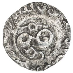 GREAT MONGOLS: Guyuk, 1246-1247, AR 1/2 dirham (1.03g), NM, ND. VF