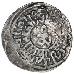 GREAT MONGOLS: Far Eastern series, ca. 1270s, AR dirham (1.84g), Khotan, ND. VF