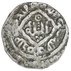 GREAT MONGOLS: Far Eastern series, ca. 1260s, AR dirham (2.20g), Kucha (Kuja), AH662. VF