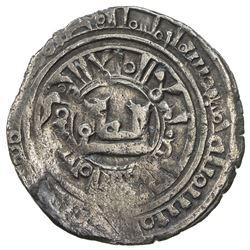 CHAGHATAYID KHANS: Orqina Khatun, 1252-1261, AR dirham (1.98g), Almaligh, AH653. F-VF