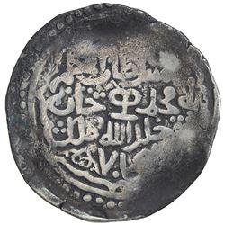 CHAGHATAYID KHANS: Muhammad, 1340-1341, AR dinar (7.73g), Almaligh, AH74(1). VF