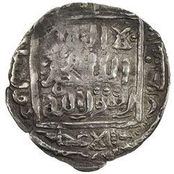 SHAHS OF BADAKHSHAN: Dawlatshah, 1291-1294, AR dirham (2.39g), Badakhshan, AH691. VF