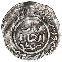 SHAHS OF BADAKHSHAN: Dawlatshah, 1291-1294, AR dirham (1.88g) (Badakhshan), AH(6)92. VF