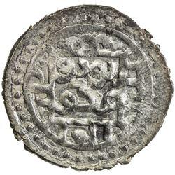 GOLDEN HORDE: Toda Mangu, 1280-1287, AR yarmaq (1.78g), Qrim, ND. EF-AU
