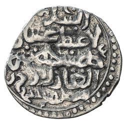 GOLDEN HORDE: Toqtu, 1291-1312, AR dirham (1.43g), Ukek, ND. F-VF