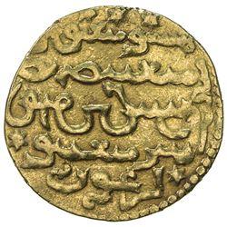 ILKHAN: Arghun, 1284-1291, AV dinar (4.34g), Tabriz, AH686. VF