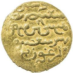 ILKHAN: Arghun, 1284-1291, AV dinar (3.98g), Tabriz, AH690. EF