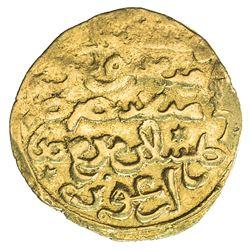 ILKHAN: Arghun, 1284-1291, AV dinar (3.94g). F-VF