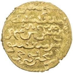 ILKHAN: Gaykhatu, 1291-1295, AV dinar (4.47g), Tabriz, AH691. AU