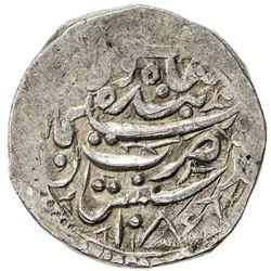 SAFAVID: Sulayman I, 1668-1694, AR abbasi (7.24g), Badakhshan, AH1087, Album-2660, VF-EF