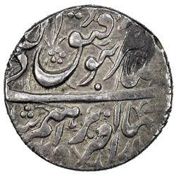 AFSHARID: Ibrahim, 1748-1749, AR abbasi (4.60g), Ganja, AH1162. EF
