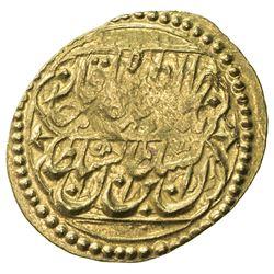 QAJAR: Nasir al-Din Shah, 1848-1896, AV toman (3.46g), Hamadan, AH1273. VF-EF