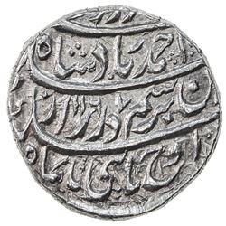 DURRANI: Ahmad Shah, 1747-1772, AR rupee (11.54g), Dera, AH1167 year 7. EF-AU