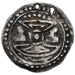 BURMESE KINGDOMS: Anonymous, ca. 10th century or later, AR small amulet (3.67g)