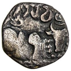 CANDRA: Bhumicandra, ca. 468-475, AR 24 ratti (2.11g)