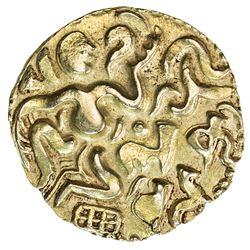 CEYLON (MEDIEVAL): Chola period, ca. 990-1070, AV kahavanu (4.36g). EF