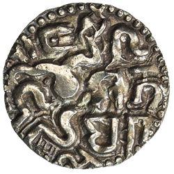 CEYLON (MEDIEVAL): Vijaya Bahu I, ca. 1055-1110, AV kahavanu (4.24g). EF