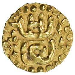 ACEH: Salih b. Ali, 1530-1537, AV mas (0.60g). EF