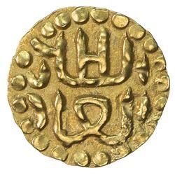 ACEH: Ala al-Din b. Ali, 1537-1571, AV mas (0.59g). EF