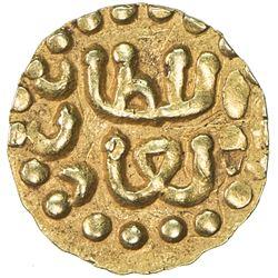 SAMUDRA-PASAI: Ahmad II, 1326-1360, AV mas (0.62g). EF