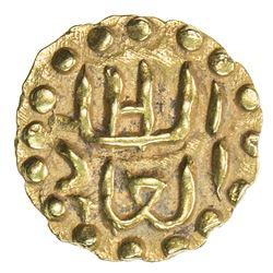 SAMUDRA-PASAI: Abdallah II, ca. 1475-1513, AV mas (0.63g). EF