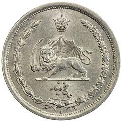 IRAN: Reza Shah, 1924-1941, copper-nickel 5 dinars, SH1310. AU