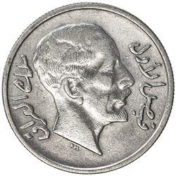 IRAQ: Faisal I, 1921-1933, AR 20 fils, 1933/AH1252. EF