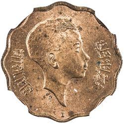 IRAQ: Faisal II, 1939-1958, 4 fils, 1943-I/AH1362. NGC MS63