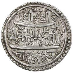 KATHMANDU: Pratap Malla, 1641-1674, AR mohar (5.44g), NS775. VF-EF
