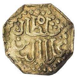 JOHORE: Ala'uddin Riayat Shah III, 1597-1615, AV mas (2.54g). EF