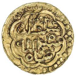 JOHORE: Sultan Abdullah Shah, 1615-1623, AV round mas (2.51g), NM, ND. EF