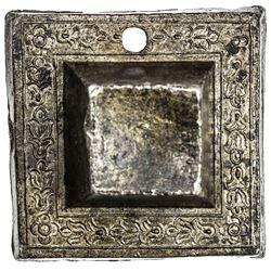 PAHANG: Bendahara Sewa Raja Tun Ali, 1806-1857, tin tampang (200.36g), AH1257. EF