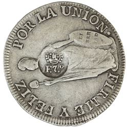 PHILIPPINES: Fernando VII, 1808-1833, AR 8 reales, ND [1832-34]. VF