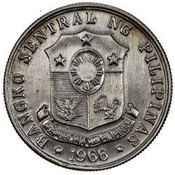 PHILIPPINES: AE peso pattern, 1969. UNC