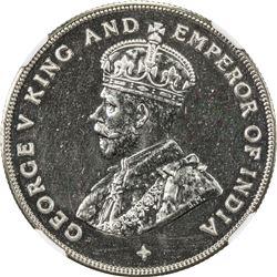 STRAITS SETTLEMENTS: George V, 1910-1936, AR dollar, 1919. NGC PF65