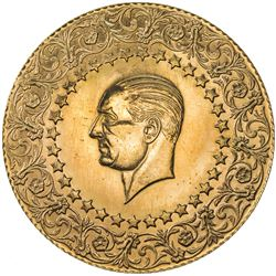 TURKEY: AV 500 kurush monnaie de luxe (35.05g), 1966. BU