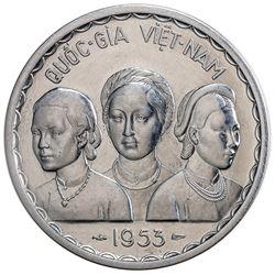 VIET NAM (SOUTH): 50 xu piefort, 1953. SP