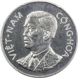 VIET NAM (SOUTH): Republic, 50 su, 1960. PCGS PF67