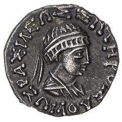 INDO-GREEK: Zoilos II, ca, 55-35 BC, AR drachm (2.19g). EF