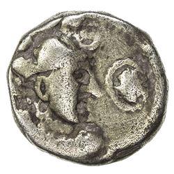 INDO-SASANIAN: Rana Datasatya, 5th-6th century, debased AV dinar (6.79g). F