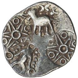 VIDARBHA: Punchmarked, ca. 500-400 BC, AR 1/2 karshapana (1.55g). EF