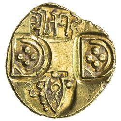 PARAMARAS OF VIDARBHA: Jagadeva, 12th century, AV padoga (3.67g). EF