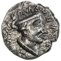 WESTERN KSHATRAPAS: Nahapana, ca. 105-125, AR drachm (2.18g). EF
