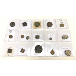 ANCIENT INDIA: LOT of 16 various pieces