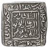 Image 1 : DELHI: Mubarakshah I, 1316-1320, AR square tanka (11.00g), Hadrat Dar al-Khilafa, AH719. EF